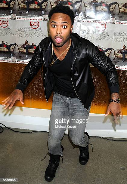 Musician Krispy Kream attends Rogers Cowan Summer Concert Series Presents The Knux at Pacific Design Center on June 19 2009 in West Hollywood...