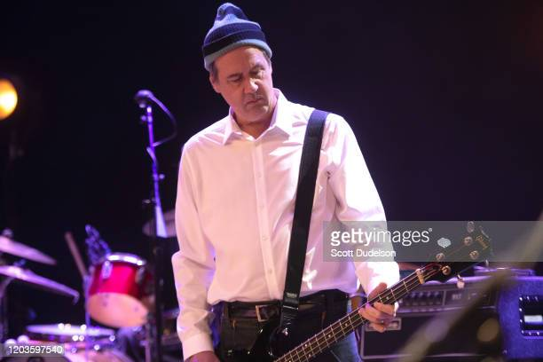 Musician Krist Novoselic founding member of Nirvana performs onstage during Homeward Bound A Benefit for the Homeless Community and PATH at The...