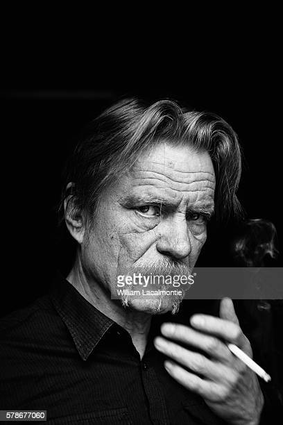 Musician Kristof Hahn is photographed for Self Assignment on April 15 2016 in Paris France