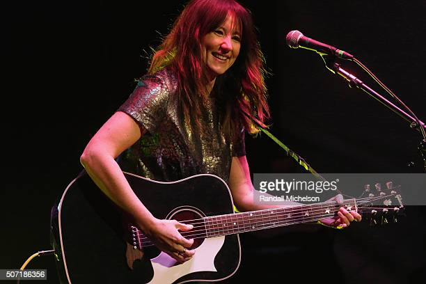 Musician KT Tunstall performs at the BMI Snowball presented by Canada Goose during the 2016 Sundance Film Festival at Festival Base Camp on January...