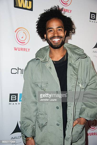 Musician Kwame Morris arrives at TBoz Unplugged at The Avalon on December 6 2015 in Hollywood California