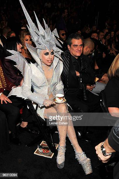 Musician Lady Gaga attends the 52nd Annual GRAMMY Awards held at Staples Center on January 31 2010 in Los Angeles California