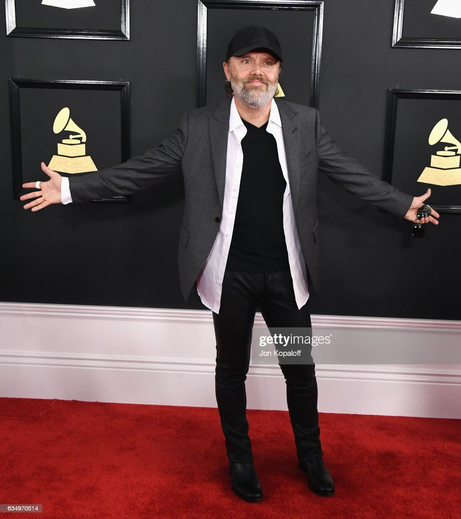 Musician Lars Ulrich attends The 59th GRAMMY Awards at STAPLES Center on February 12, 2017 in Los Angeles, California.