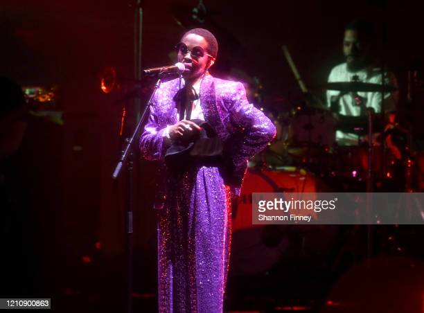 Musician Lauryn Hill performs at BGR!Fest at The Kennedy Center on March 06, 2020 in Washington, DC.