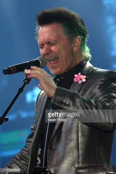 Musician Lawrence Gowan perfomrms at the 2019 Canadian Music and Broadcast Industry Awards during Canadian Music Week 2019 at Rebel Entertainment...