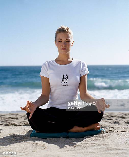 Musician LeAnn Rimes is photographed for Self Assignment on May 1 2005 in Malibu California