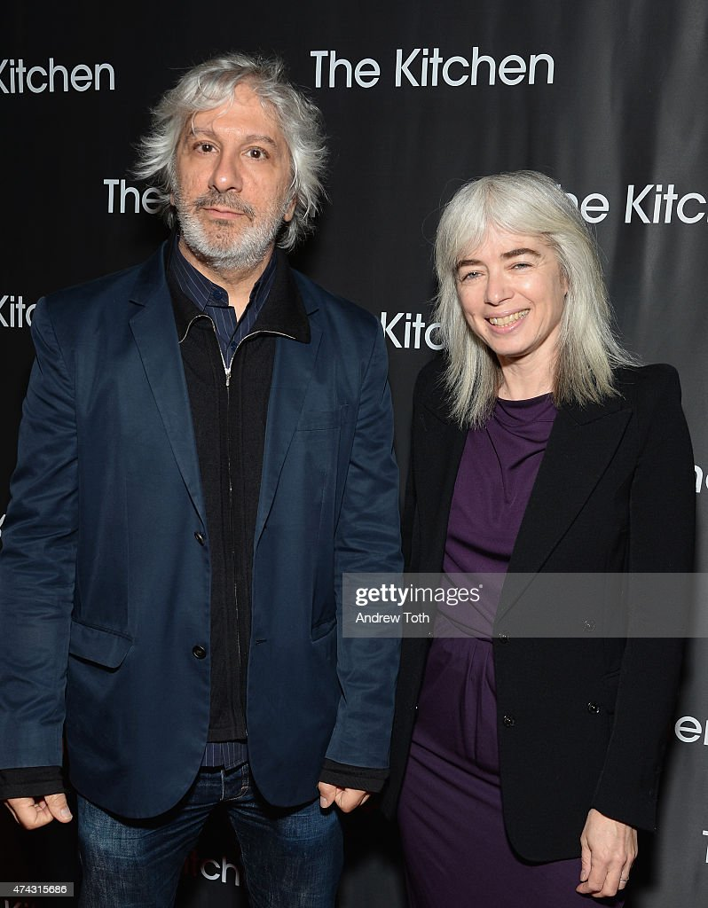 Musician Lee Ranaldo and photographer Leah Singer attend The Kitchen's Spring 2015 Gala at Cipriani Wall Street on May 21, 2015 in New York City.