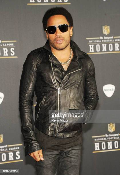 Musician Lenny Kravitz attends the 2012 NFL Honors at the Murat Theatre on February 4, 2012 in Indianapolis, Indiana.