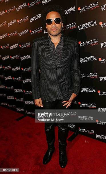 Musician Lenny Kravitz attends the Seventh Annual Hamilton Behind the Camera Awards at The Wilshire Ebell Theatre on November 10 2013 in Los Angeles...
