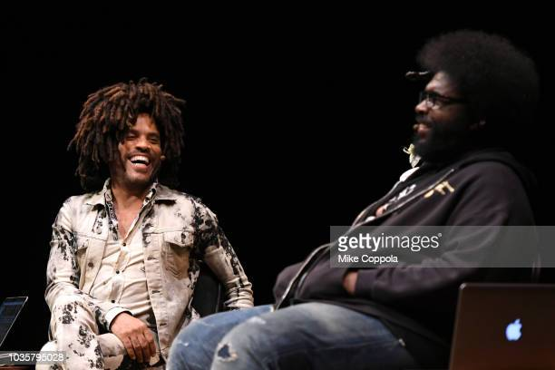 Questlove poses for a photo during 'An Evening with Lenny Kravitz with Guest Host Questlove' on September 18 2018 in Newark New Jersey