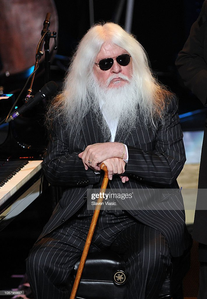 "Elton John And Leon Russell Perform On ""Good Morning America"""
