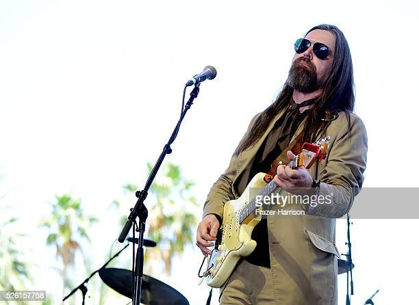 Musician Leroy Powell performs onstage during 2016 Stagecoach California's Country Music Festival at Empire Polo Club on April 29, 2016 in Indio,...