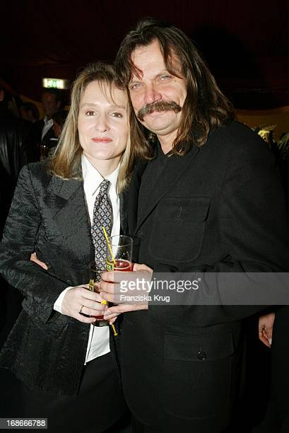 Musician Leslie Mandoki and wife Eva at EWitzigmanns Premiere Of Palazzo Witzigmann In Munich