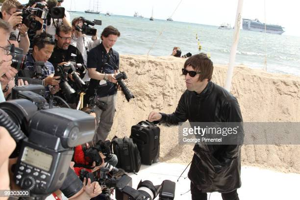 Musician Liam Gallagher attends 'The Longest Cocktail Party ' Photo Call held at the Terraza Martini during the 63rd Annual International Cannes Film...