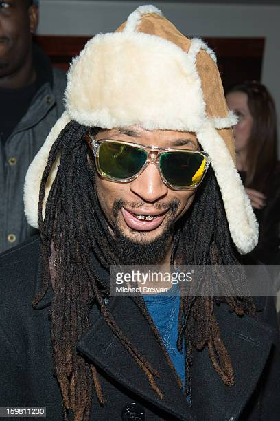Musician Lil Jon attends Paige Hospitality Game Watch at Sky Bar on January 20 2013 in Park City Utah