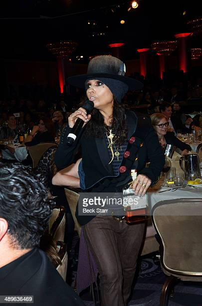 Musician Linda Perry hosts The LA Gay Lesbian Center's Annual 'An Evening With Women' at The Beverly Hilton Hotel on May 10 2014 in Beverly Hills...
