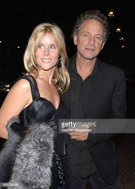 Musician Lindsey Buckingham and his wife Kristen attend the David Geffen School of Medicine at UCLA Visionary Awards at the Regent Beverly Wilshire...