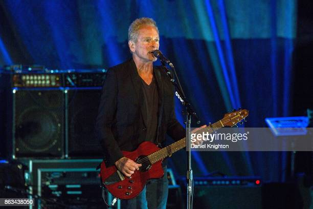 Musician Lindsey Buckingham performs on stage at Humphrey's on October 19, 2017 in San Diego, California.