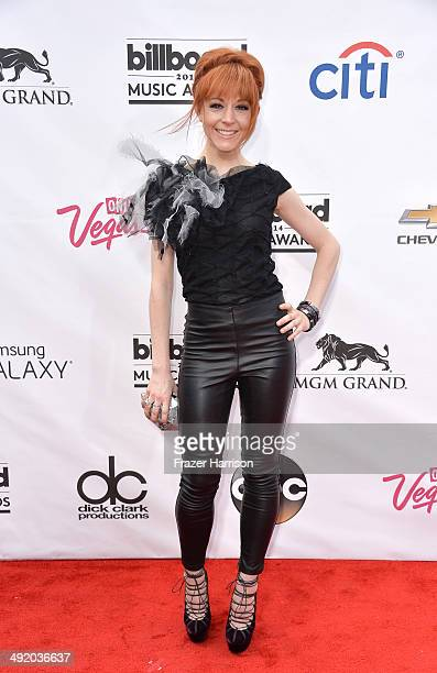 Musician Lindsey Stirling attends the 2014 Billboard Music Awards at the MGM Grand Garden Arena on May 18 2014 in Las Vegas Nevada