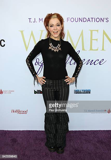 Musician Lindsey Stirling attends the Women Of Influence Awards at The Wilshire Ebell Theatre on June 21 2016 in Los Angeles California