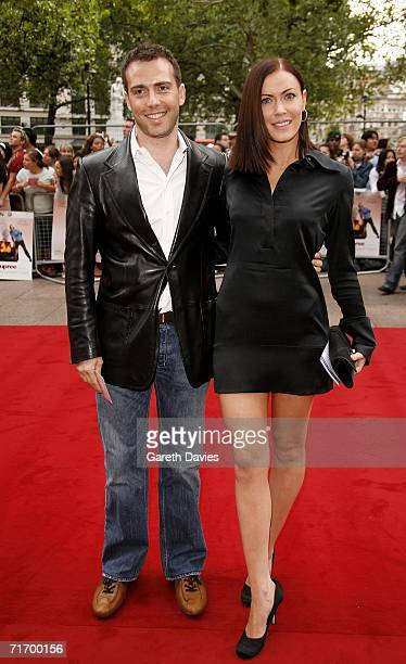 Musician Linzi Stoppard and Playwright Will Stoppard arrive at the UK premiere of 'You Me Dupree' at Odeon Leicester Square on August 22 2006 in...