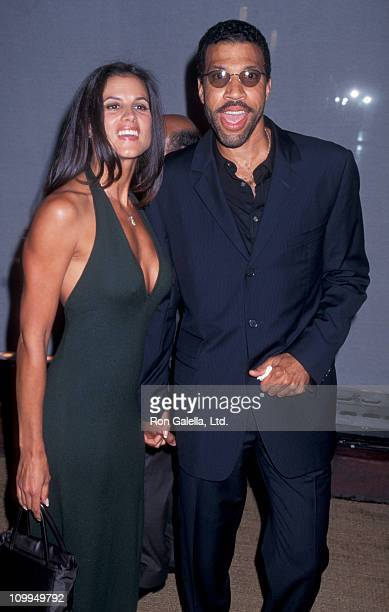 Musician Lionel Richie and Diane Alexander attend A Tribute to Style InnerCity Art Benefit on September 9 1996 at Rodeo Drive in Beverly Hills...