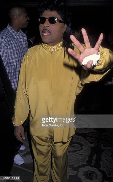Musician Little Richard attends the One Giant Leap For Humanity Benefit on September 25 1999 at Griffith Park in Los Angeles California