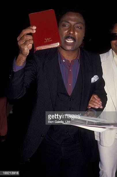 Musician Little Richard attends the premiere of Purple Rain on July 26 1984 at Mann Chinese Theater in Hollywood California