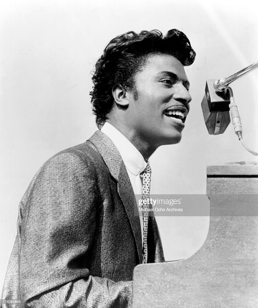Little Richard Performing : News Photo