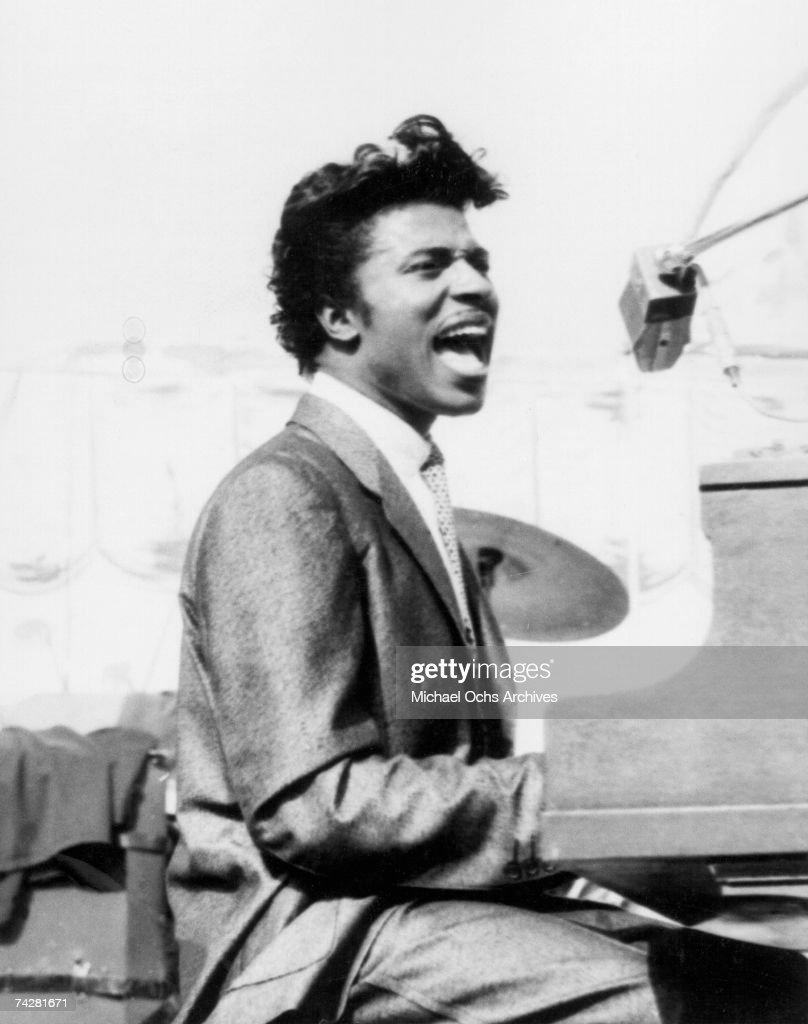 Little Richard Performing : News Photo