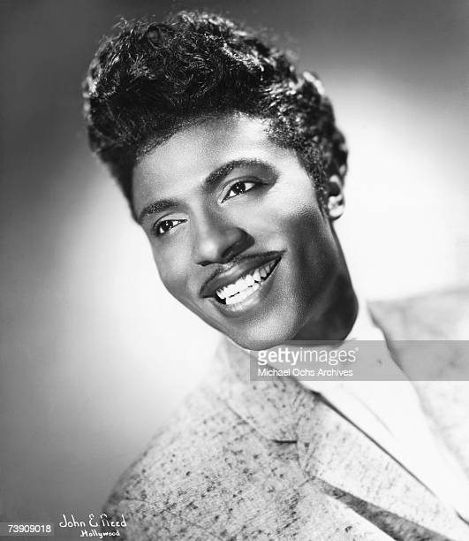 Musician Little Richard poses for a portrait in circa 1956 in Hollywood, California.