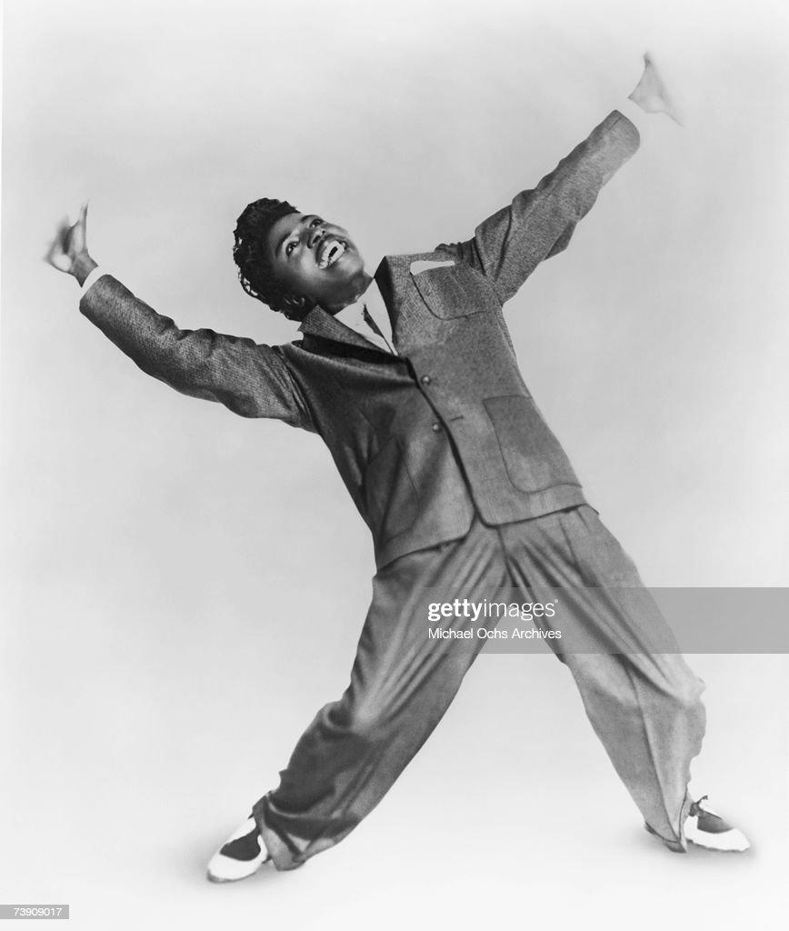 Little Richard Portrait : News Photo