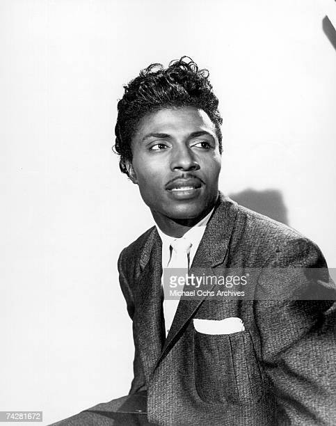 Musician Little Richard poses for a portrait in circa 1956.