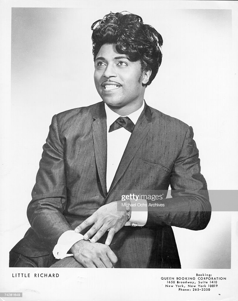 Little Richard Portrait : News Photo