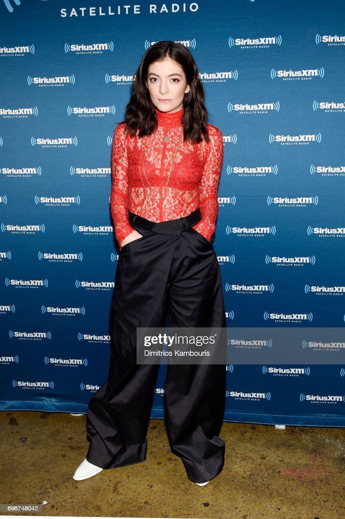 Lorde Performs For SiriusXM At Bowery Ballroom In New York City; Performance Airs Live On SiriusXM's Alt Nation Channel