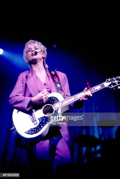Musician Lorrie Morgan performs onstage Chicago Illinois December 2 1995