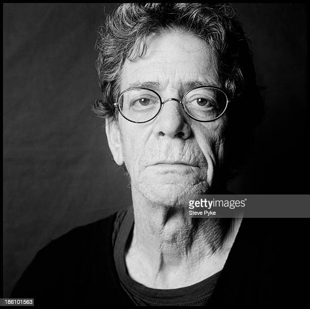 Musician Lou Reed is photographed on December 8 2009 in New York City