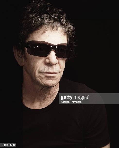 Musician Lou Reed photographed for a 2003 Venice Magazine in New York City.