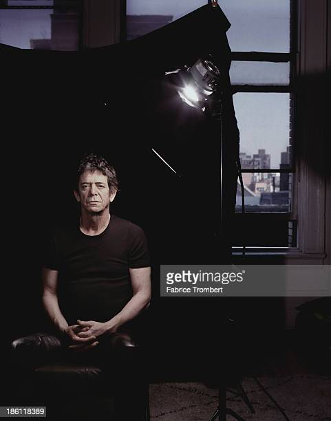Musician Lou Reed photographed for a 2003 Venice Magazine in New York City