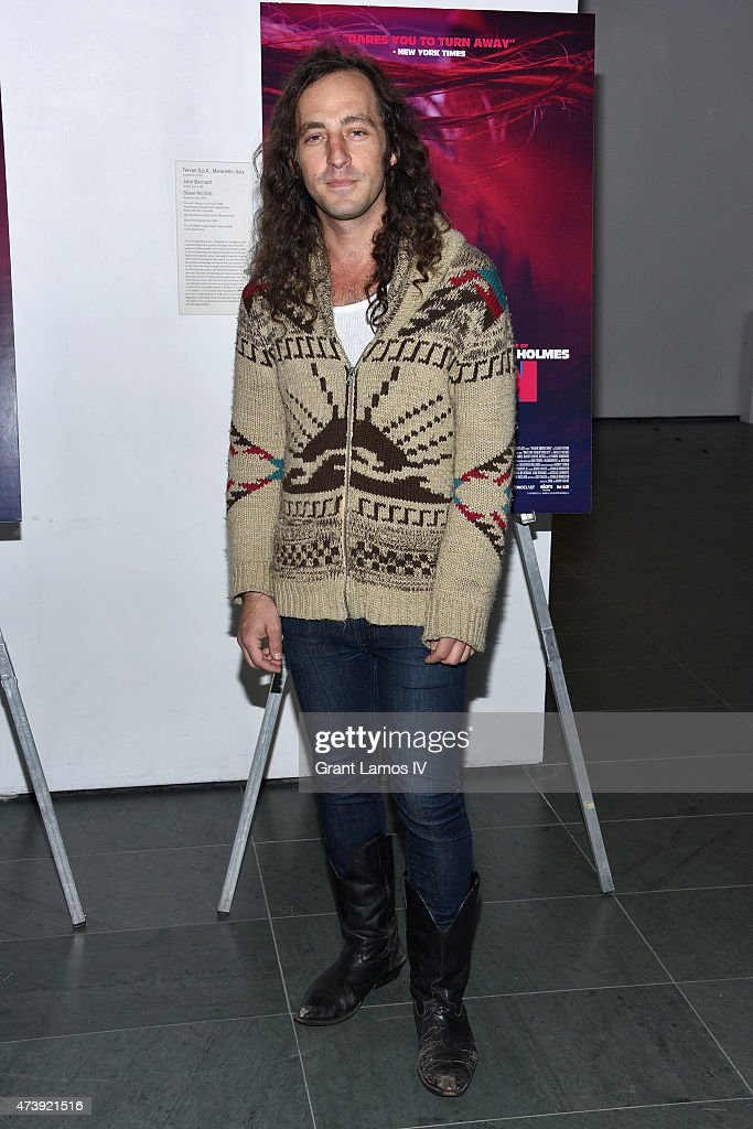 Musician Louis Schwadron attends 'Heaven Knows What' New York Premiere at the Celeste Bartos Theater at the Museum of Modern Art on May 18, 2015 in New York City.