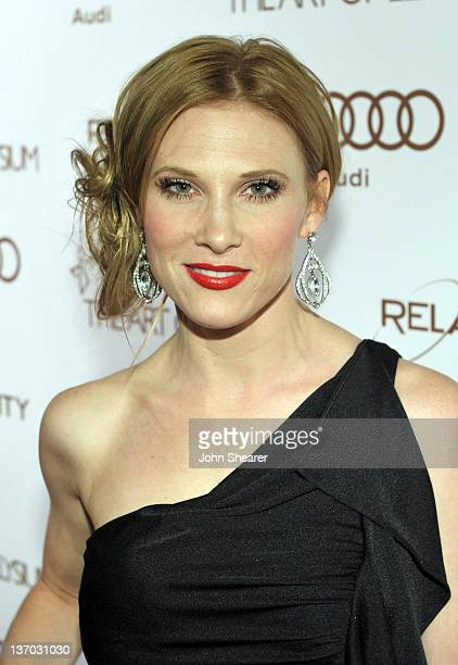 Musician Lucy Walsh arrives at Audi presents The Art of Elysium's 5th annual HEAVEN at Union Station on January 14, 2012 in Los Angeles, California.