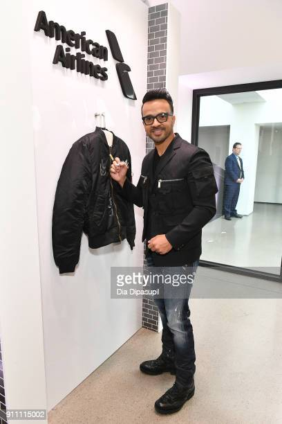 Musician Luis Fonsi attends Sir Lucian Grainge's 2018 Artist Showcase presented by Citi with support from Remy Martin on January 27 2018 in New York...
