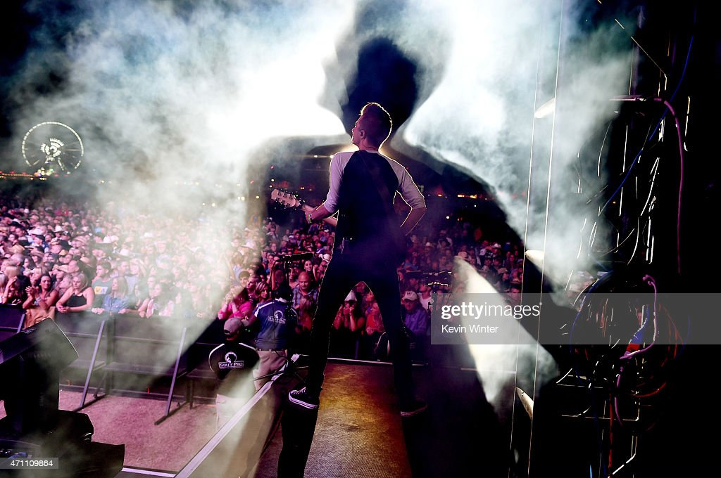 Musician Lukas Bracewell performs onstage during day one of 2015 Stagecoach, California's Country Music Festival, at The Empire Polo Club on April 24, 2015 in Indio, California.
