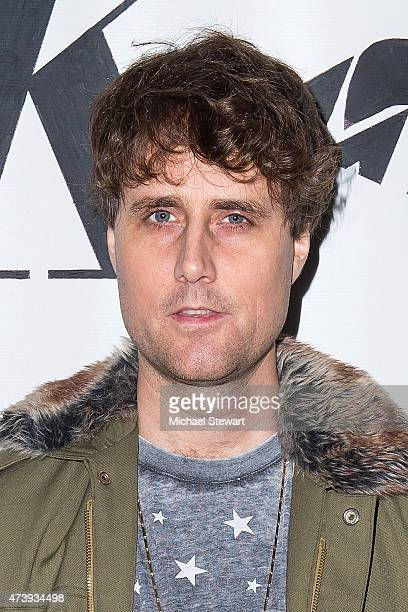 Musician Luke Jenner of The Rapture attends the Let A Bear Sht In The Woods Campaign Launch at the Electric Room at Dream Downtown on May 18 2015 in...