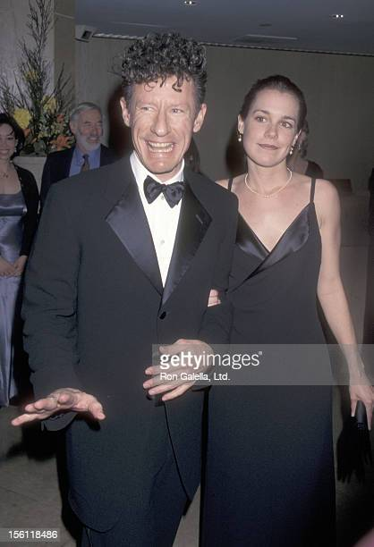 Musician Lyle Lovett and girlfriend April Kimble attend the 12th Annual Genesis Awards on March 28 1998 at Beverly Hilton Hotel in Beverly Hills...