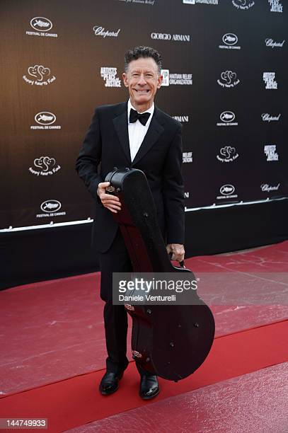 Musician Lyle Lovett attends the Haiti Carnival In Cannes during the 65th Annual Cannes Film Festival on May 18 2012 in Cannes France