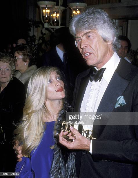 Musician Lynsey de Paul and Actor James Coburn attend the 31st Annual Directors Guild of America Awards on March 10 1979 at Beverly Hilton Hotel in...