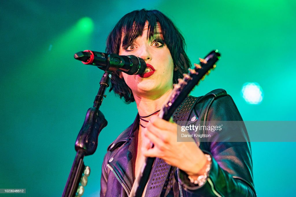 Halestorm And In This Moment Perform At Harrah's Resort : News Photo