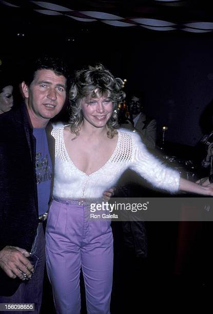 Musician Mac Davis and actress Lisa Gerard attending the wrap party for 'The Next Sting' on January 29 1982 at Universal Studios in Universal City...