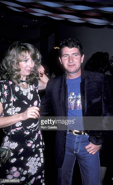 Musician Mac Davis and actress Teri Garr attending the wrap party for 'The Next Sting' on January 29 1982 at Universal Studios in Universal City...